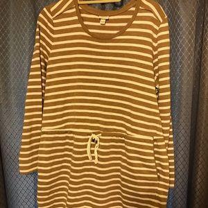 Dress  mini striped